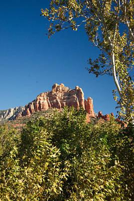 Red Rocks At Oak Creek Canyon 1 Art Print
