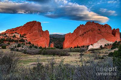 Photograph - Red Rocks At Sunrise by Adam Jewell