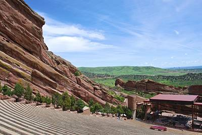 Photograph - Red Rocks by Charlie and Norma Brock