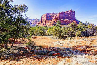 Photograph - Red Rocks In Sedona Az by James Steele