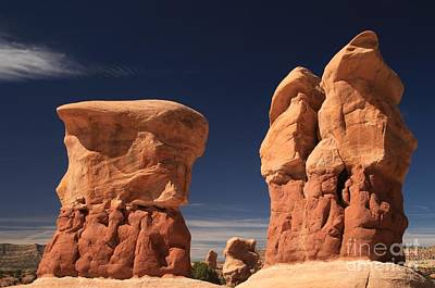 Photograph - Red Rocks In The Sky by Adam Jewell