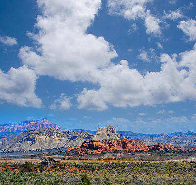 Photograph - Red Rocks Near Kodachrome Basin by Donald Fink