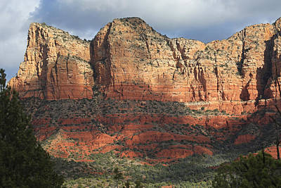 Red Rocks Of Sedona 2 Art Print by Donna Kennedy
