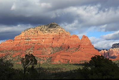 Red Rocks Of Sedona 3 Art Print by Donna Kennedy