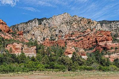 Photograph - Red Rocks Of Sedona by Keith Swango