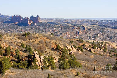 Steven Krull Royalty-Free and Rights-Managed Images - Red Rocks Open Space and Garden of the Gods by Steven Krull