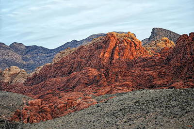Photograph - Red Rocks - Red Rock Canyon National Conservation Area by Glenn McCarthy
