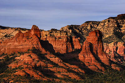 Photograph - Red Rocks Statuesque 33 by Mark Myhaver