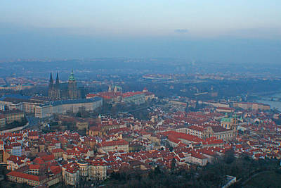 Photograph - Red Roofs Of Prague by Jon Emery