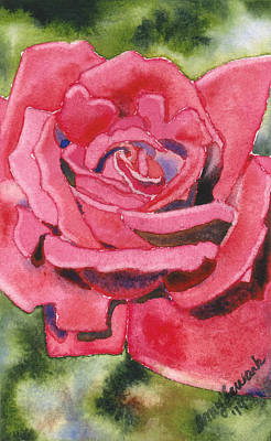Painting - Red Rose by Amy Lewark