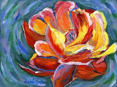 Painting - Red Rose by Jamie Frier