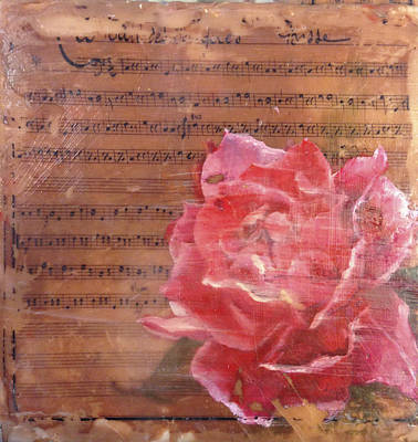Painting - Red Rose by Vicki Ross