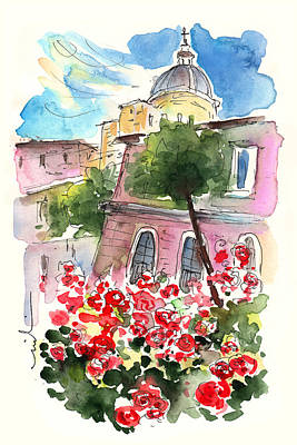 Painting - Red Roses From Catania by Miki De Goodaboom