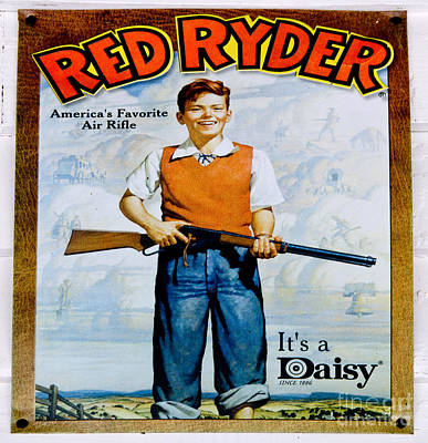 Photograph - Red Ryder Bb Gun by Paul Mashburn
