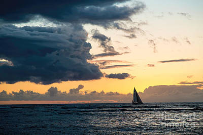 Photograph - Red Sails In The Sunset by Jon Burch Photography