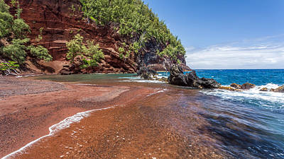 Photograph - Red Sand Beach by Pierre Leclerc Photography