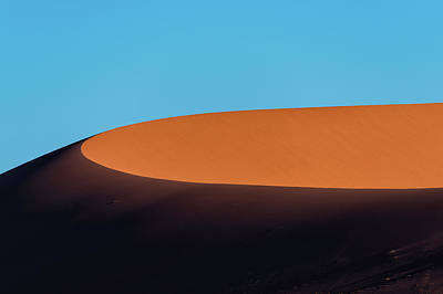 Photograph - Red Sand Dune And Blue Sky, Namibia by Paranyu Pithayarungsarit