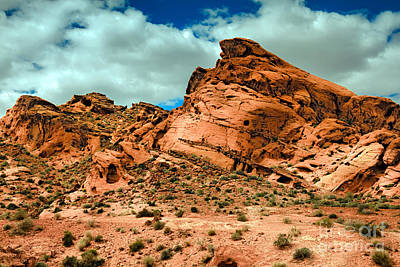 Photograph - Red Sandstone by Robert Bales