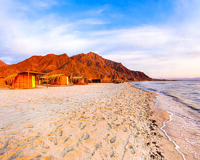 Photograph - Red Sea Beach Paradise In Egypt by Mark E Tisdale