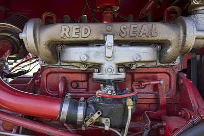 Red Seal Art Print