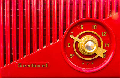Photograph - Red Sentinel by Christy Usilton