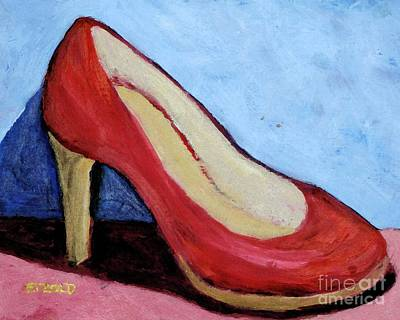 Painting - Red Shoe by Melinda Etzold