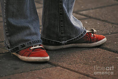 Photograph - Red Shoes by Aimelle