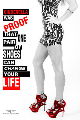 Red Shoes Art Print by Fussgangerfoto