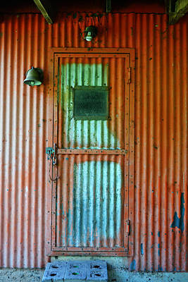 Photograph - Red Sided Door by Holly Blunkall