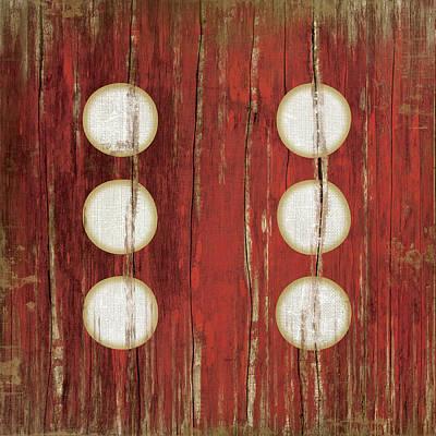 Man Cave Painting - Red Six by Jennifer Pugh