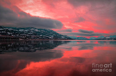 Skaha Photograph - Red Skies In The Morning by Tara Turner