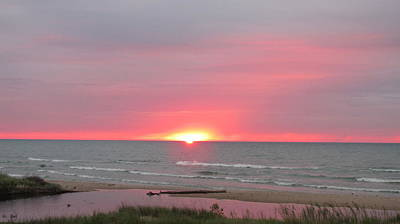 Photograph - Red Sky At Morning by Denise   Hoff