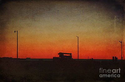 Photograph - Red Sky At Night by Terry Rowe