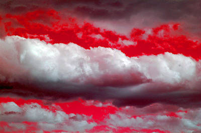 Photograph - Red Sky Night by Holly Blunkall