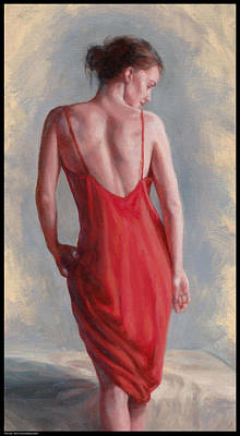 Painting - Red Slip by Diana Moses Botkin
