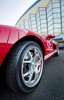Red Sport Car Wheel  Original