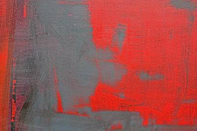Painting - Red Square Dissected II C2010 by Paul Ashby