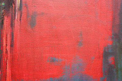 Painting - Red Square Dissected X  C2010 by Paul Ashby