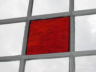 Red Square Art Print by Thomas Carroll