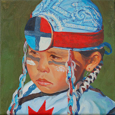 Painting - Red Star by Christine Lytwynczuk