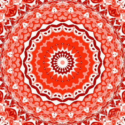 Red Star Art Print by Ron Brown