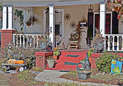 Photograph - Red Steps by Linda Brown