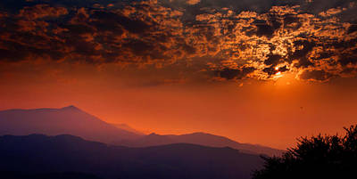 Photograph - Red Sumer Sunset by Weston Westmoreland