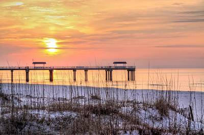 Photograph - Red Sun Rising by JC Findley