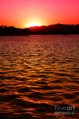 Photograph - Red Sunset by Yew Kwang