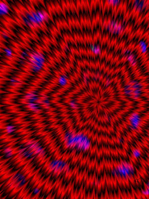 Digital Art - Red Super Nova by Karen Buford