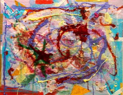 Painting - Red Tailed Hummingbird by Marita Esteva