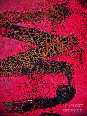 Photograph - Red Temptations Abstract by Lee Craig