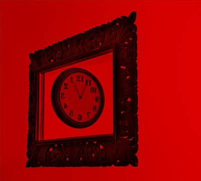 Photograph - Red Time Frame by Rob Hans