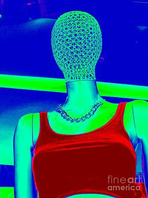 Digital Art - Red Top Abstract by Ed Weidman